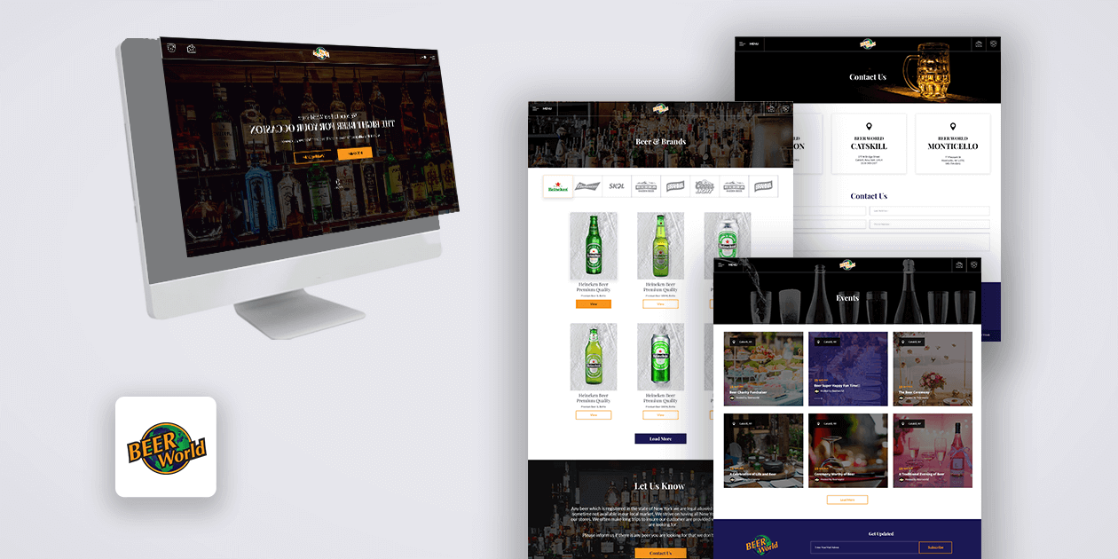 BeerWorld - Website Development