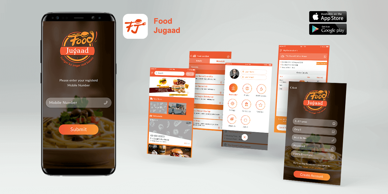 FoodJugaad - Mobile Application Development