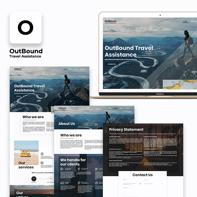 OutBound Travel Assistance - Website Development